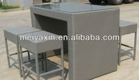 outdoor rattan furniture/rattan&wicker bar chair