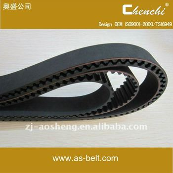 Power rubber belt auto industrial timing belt 130MR25