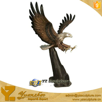 Decoration Bronze Eagle Statue
