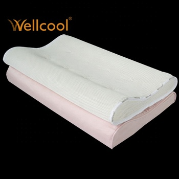 3D spacer mesh air conditioning contour pillow