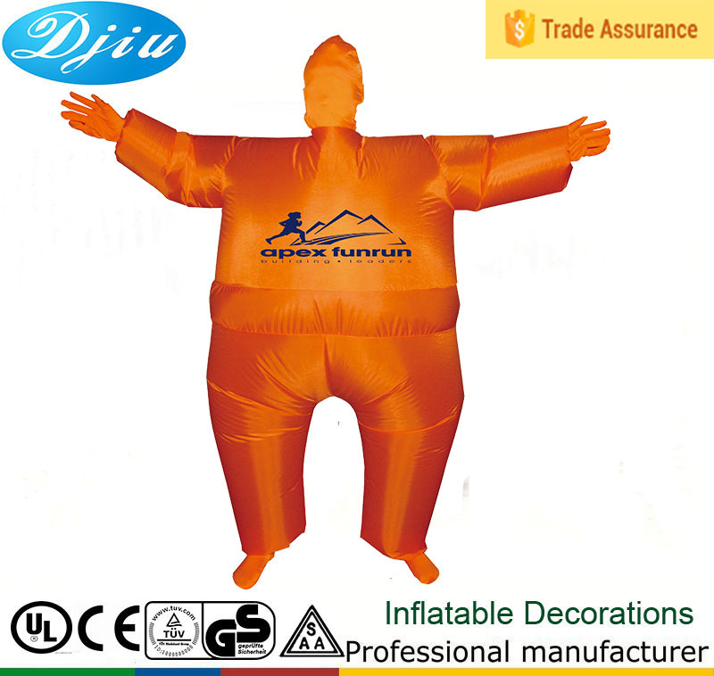 DJ-CO-102 inflatable garlic muscle man pig dragon eyeball blimpz costume
