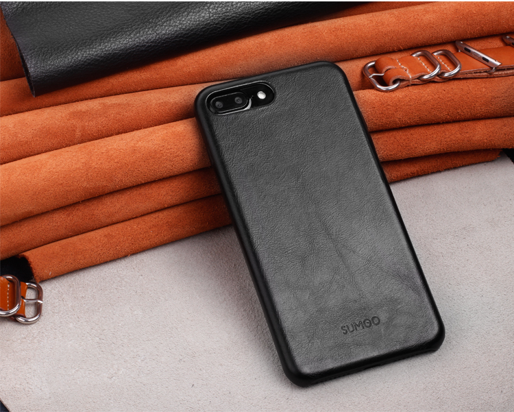 custom design case for iphone7 case leather
