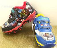 TF-02160711033 Avengers Boys Kids Basketball Shoes Athletic Running Shoes Black/Blue