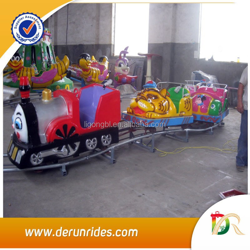 Amazing !! Hot Sale Electric Track Train for Kids Amusement Park !!!