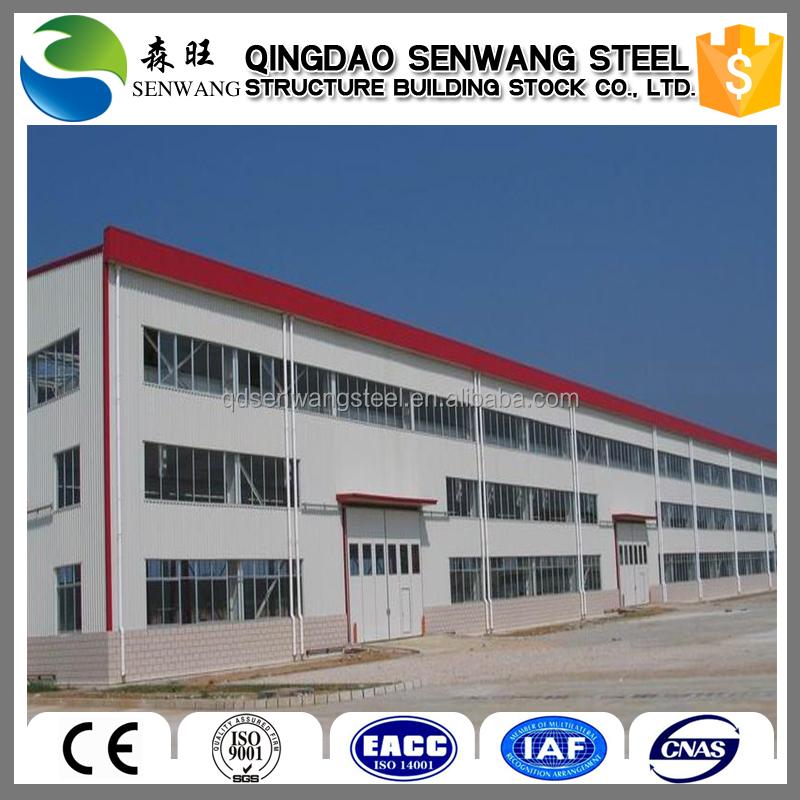 Long Span Steel Structure Construction Building Structure Of A U003cstrongu003emetal U003c/strong