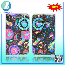 New Product PU Leather Printable Cell Phone Cases for Samsung G313