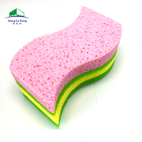 Magic Cellulose Sponge Kitchen Eraser Cleaning