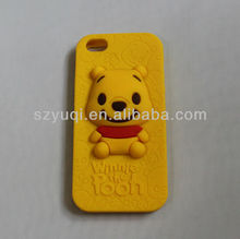 cute bear silicone cellphone accessory cases manufacturer