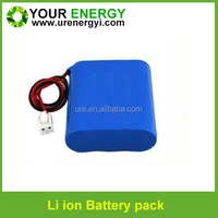 samsung 18650 battery 11.1v 2600mah li-ion battery pack for cctv camera