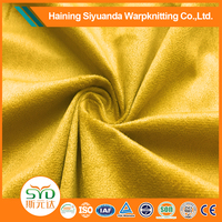 Hot sales double sided genuine suede leather fabric supply for home textile