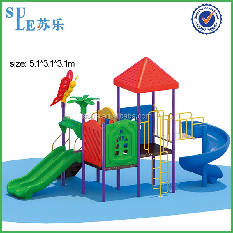 Manufacturer plstic Outdoor children play ground Kids playground plastic toy dog playground equipment for sale