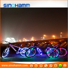 Sinohamm Super-Bright LED Bicycle Lights for Spokes and Frames/LED Wheel Light Bike Car Tyre Tire Valve Caps