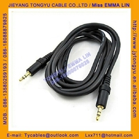 3.5mm jack to jack stereo to stereo audio cable 3.5st to 3.5st