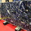 Luxury Purple faux marble wall panels for sale