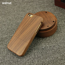 Eco friendly real bamboo wooden cell phone case cover , Custom carve logo handmade wooden cell Phone Case