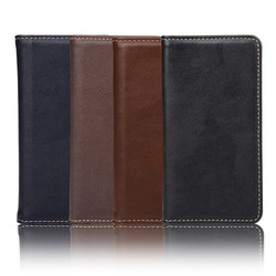 Genuine leather wallet case for Sony Xperia Z5 Mini, For Sony Xperia Z5 mini genuine leather case cover, High quality