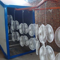 Automatic Powder Paint System for Fan