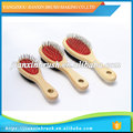 variety color optional small medium large size wooden pet brush for dog and cat grooming