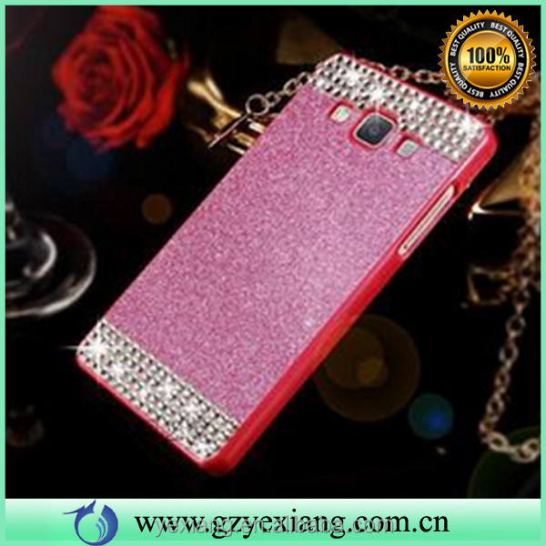 New products 2016 bling hard cover case for Samsung galaxy note 3 acrylic cell phone back case