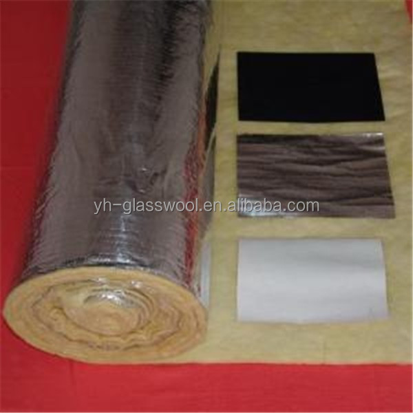 Fibre glass wool duct wrap