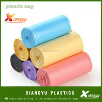 High quality plastic garbage bag trash bag inner bin liners on roll