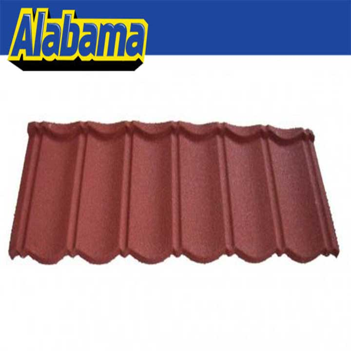 factory direct flexible roofing material, metal roof tile in tanzania