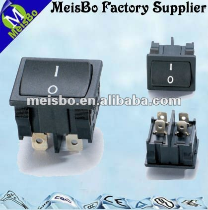 ON OFF ac motorcycle push button switch 4 pins