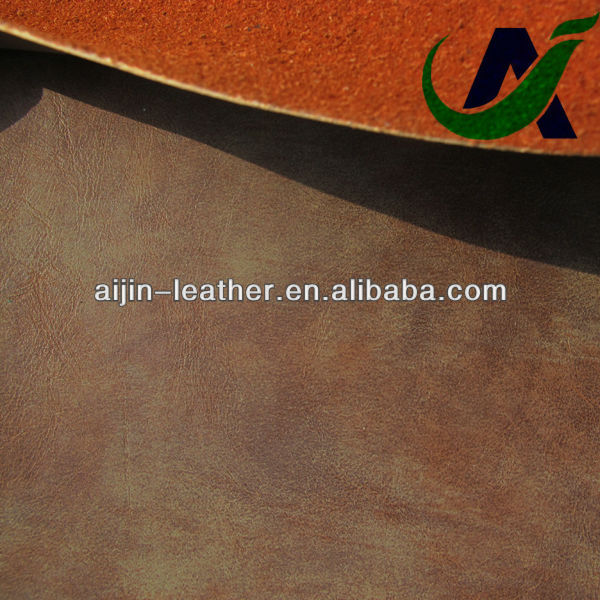 PU bonded leather material for furniture industry