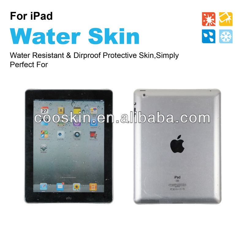 Untra thin high transparency Waterproof Screen protector for IPAD MINI