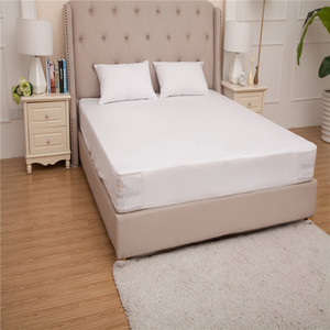 Hypoallergenic anti mite bed bug proof mattress cover waterproof