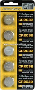 CR2032 3V Button Lithium Battery