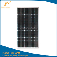 hot sale monocrystalline solar panel 300w for system