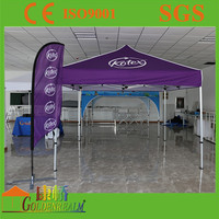Best selling customized Logo Printed Beach Flag Banner for advertising-golden realm