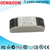 passing EMC15w plastic case dimming constant current led driver 700ma for panel light seiling light