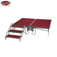 Outdoor event steel folding stage, portable stage, mobile stage