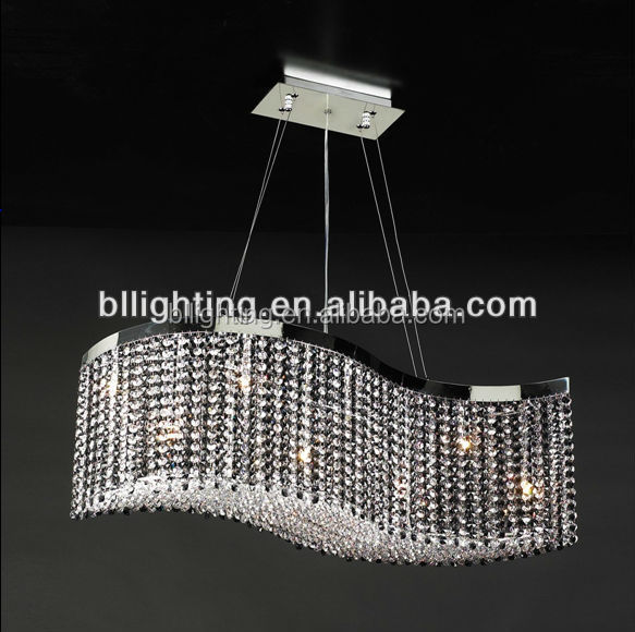 China factory wholesale crystal lustre moderne