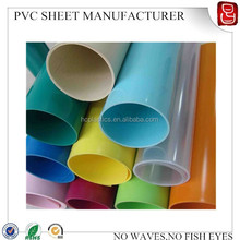 0.4mm colorful pvc roll/pvc roll sheet/plastic pvc rolls