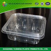 Plastic food packing bakery product packaging design box