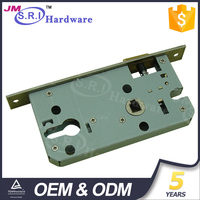 High security european standard mortise locks body