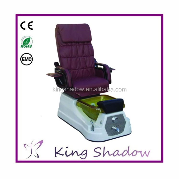 2016 High Quality Foot Spa Massage Chair Plumb Free Pedicure Chair For Sale