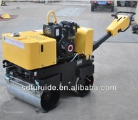 china double drum vibratory hand hydraulic road tamping roller