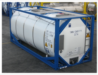 High-quality Best-price 20FT ISO TANK UN Portable T11 25CBM (chemical or foodstuff)