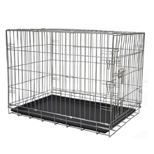 Cheap Large Dog Kennel Lowes Dog Houses Silver Dog Crate