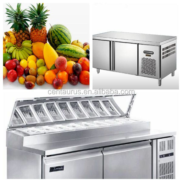 Good quality stainless steel refrigerated salad bar with best price