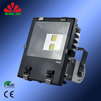 2015 China best seller high quality ip65 outdoor construction site flood 100w led cob flood light