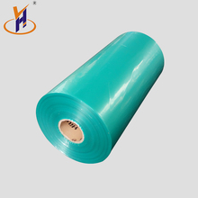 Hot Sale useful water proof color customized pe shrink ldpe 550mm blue wrapping plastic film roll
