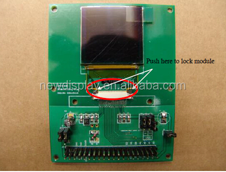 1.5 inch small tft lcd display 128*128 resolution OLED display YX-2828GDEDF11