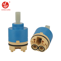40mm mixer tap ceramic cartridge ceramic disc cartridge valve core