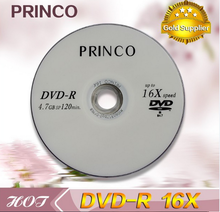 PRINCO blank dvd high quality dvd 4.7GB 16X 120min dvd