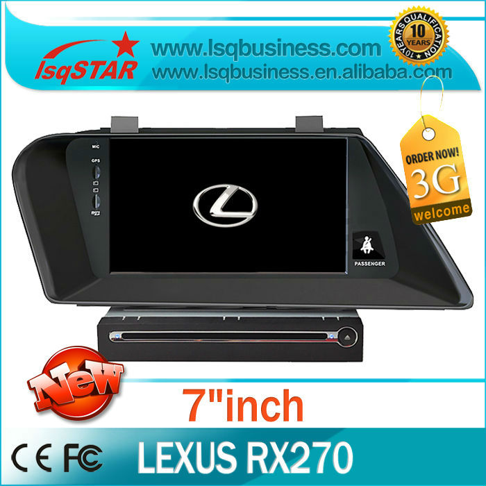 LSQ Star Lexus RX350/ RX270 auto radio gps navigation with full functions hot selling